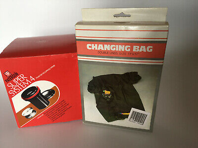 Paterson Super System 4 Developing Tank and Generic Changing Bag