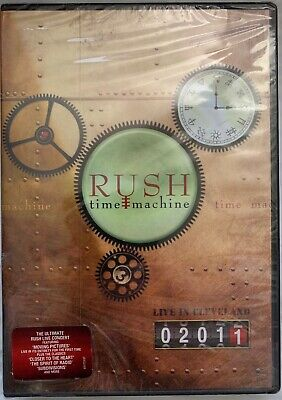Rush - Time Machine 2011: Live in Cleveland [DVD - Brand New]