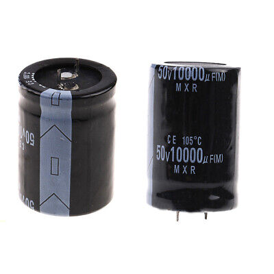 10000uF 50V 105°C Power Electrolytic Capacitor Snap Fit Snap In