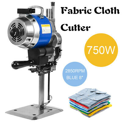 """Auto Sharpening Clothes Fabric Cloth Cutter  8""""Fabric Leather Cutting Machine"""