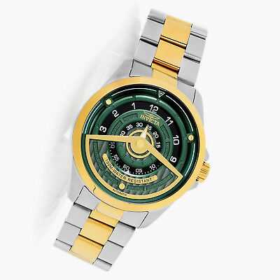 Invicta Emerald Green S1 Rally Tri-Disc 24 Jewel Automatic Brand New