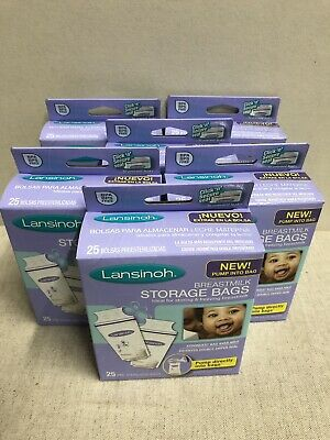 Lansinoh Breastmilk Storage Bags - 150 ct Brand New Sealed Condition