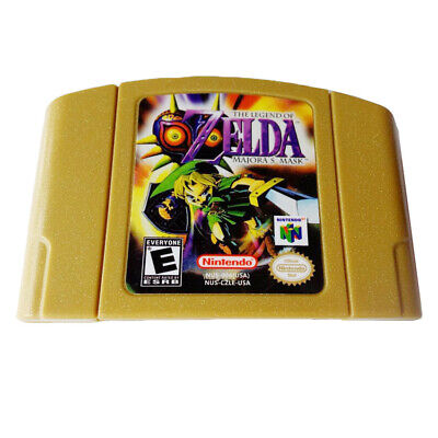 The Legend of Zelda Majora's Mask Game Cartridge For Nintendo 64 N64 US Version