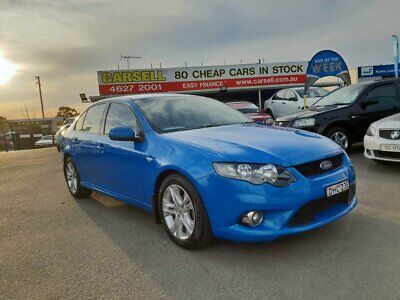 2010 Ford Falcon FG XR6 Blue Automatic 4sp A Sedan
