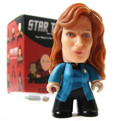 "Titans STAR TREK THE NEXT GENERATION Make It So Series BEVERLY CRUSHER 3"" Figure"
