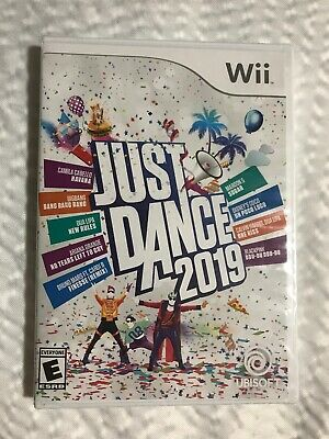 Just Dance 2019 Nintendo Wii Brand New Factory Sealed Us Edition 19