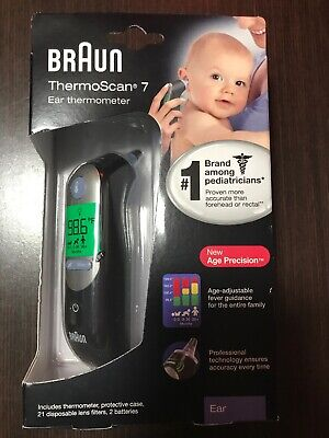Braun ThermoScan 7 IRT6520 Baby/Adult Digital Ear Thermometer New
