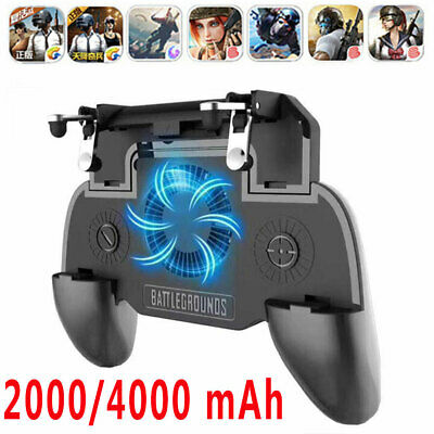 PUBG Game Controller Joystick Cooling Fan Gamepad For Cell Phone Android IOS