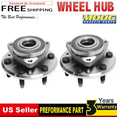 Note: New Style Series 4-Wheel ABS Stirling 2006 For GMC Sierra 1500 Front Wheel Bearing and Hub Assembly x 1