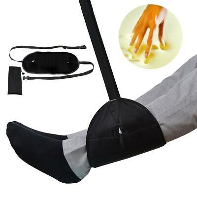 Comfy Hanger Travel Airplane Footrest Hammock Foot Made with Premium Memory-Foam
