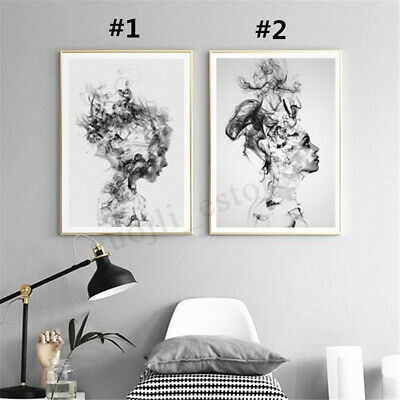 Unframed Modern Canvas Painting Print Abstract Wall Picture Room Home Decor