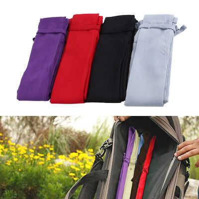 Cotton Cloth Fishing Rod Sleeve Pole Sock Protector Case Pole Bag Pouch Utility.