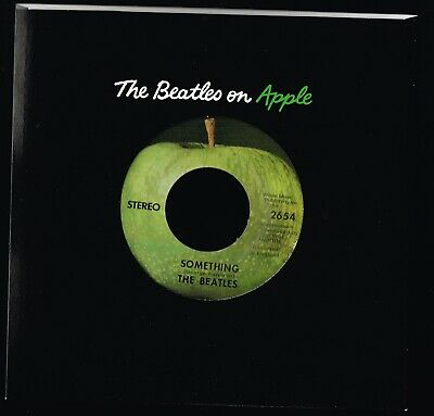 SOMETHING b/w COME TOGETHER Beatles VINYL 45 w Sleeve RECORD STORE DAY 2011 MINT