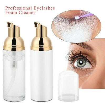 60ml Eyelash Cleanser Foamy Shampoo Professional Clean Eyelash Extension ML