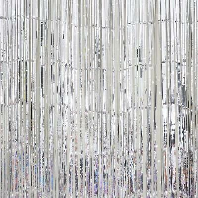 Door Curtains Foil Fringe Party Wedding Photo Booth Props Creative Backdrop