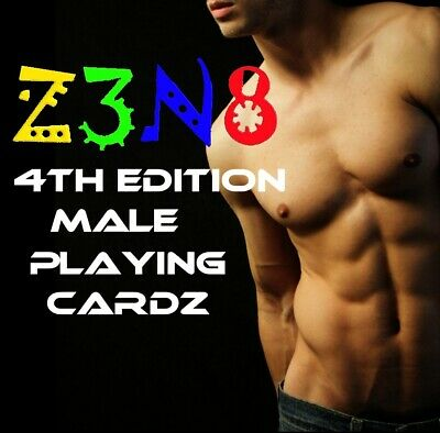 Male hot guy Playing Cards non nude male deck of cards twink gay gift PRIDE stud