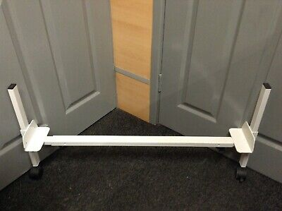 2 x BED RISERS (raise any single bed) disability medical disabled mobility aids