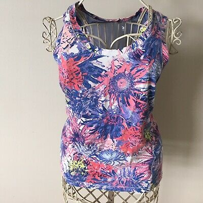 90d370cd8c CALIA by Carrie Underwood Women's Everyday Printed Tank Top - Floral - L -  EUC