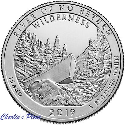 2019-S ATB Frank Church River Quarter From Silver Proof Set Presale