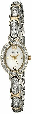 Bulova Women's 98L005 Crystal-Accented Watch