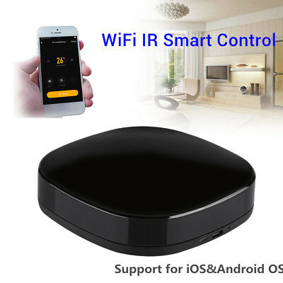 A1 Smart Universal Home Remote Control IR WiFi Automatic RF For Alexa JS