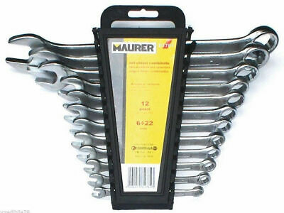 Set Serie Chiavi Combinate 8 Pz Da Mm 6 A 19 Maurer (30095)