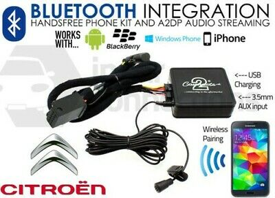 Citroen Berlingo Bluetooth adapter RD4 Streaming music handsfree call CTACTBT002