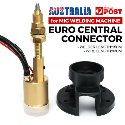 Euro Panel Socket Central Adaptor Conversion For CO2 MIG Welding Machine Torch