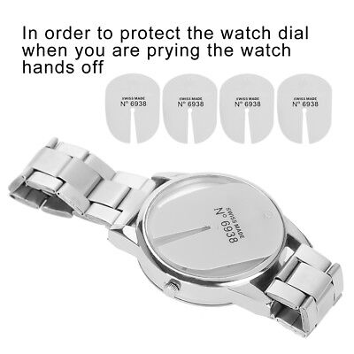 5pcs Watch Dial Protector Protection Pad for Watch Hand Removal Watchmaker Tools