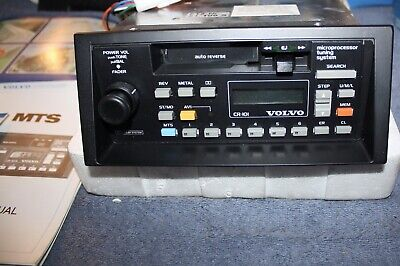 Volvo 740 760 340 360 MTS AVI Radio CR 101 CR 4061 NOS new old stock