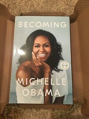 MICHELLE OBAMA : Becoming (2018), Hardcover, SIGNED