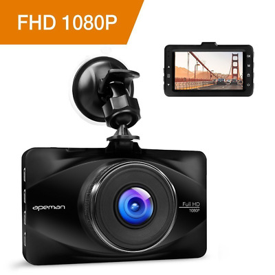 APEMAN In Car Dash Cam 1080P FHD Camera Metal DVR Digital Driving Video Recorder