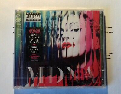 "Madonna ""mdna"" Deluxe Edition 5 Additional Tracks  2Cd"