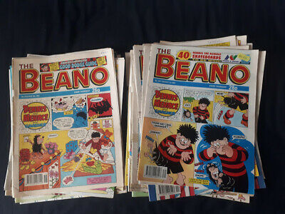 Job lot of 46 Beano Comics from early 90s and 00s