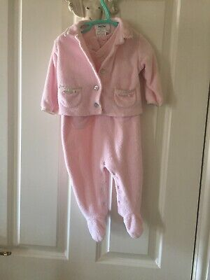 Baby Dior Baby Grow And Jacket Girls Age 12months