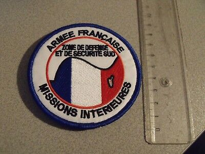 Ecusson Armee Francaise Missions Interieures