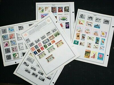 WOW! 5+ Pages Albania Postage Stamps DOUBLE SIDED OLD Treasure Hunt 441