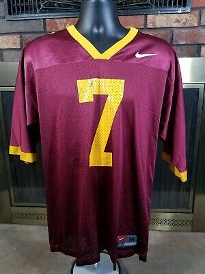cffda7d53 Nike Team USC Trojans #7 NCAA Football Jersey MENS SIZE MEDIUM California