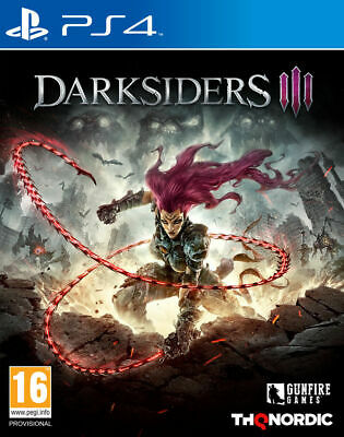 Darksiders III (3) P(PS4 PLAYSTATION 4 VIDEO GAME) *NEW/SEALED* FREE P&P