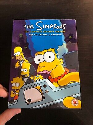 The Simpsons - Series 7 - Complete (DVD, 2006, 4-Disc Set)