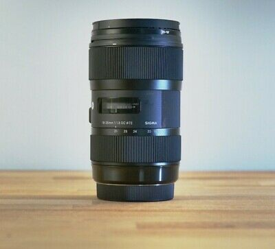 Sigma 18-35mm f/1.8 DC HSM Art Lens (for Canon) USED EXCELLENT CONDITION