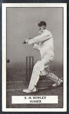 Gallaher-Famous Cricket Ers-#029- Sussex - Bowley