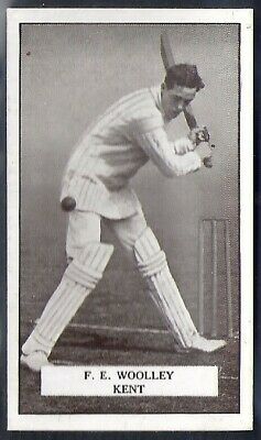 Gallaher-Famous Cricket Ers-#046- Kent - Woolley