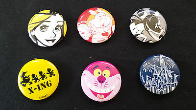 """7 - Disney Themes - 1"""" Buttons"""