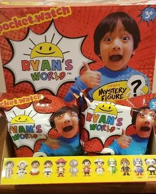 IN HAND - Ryan's World Mystery Blind Bag Figures - BRAND NEW - SHIPS TODAY