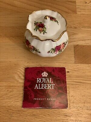Royal Albert Old Country Roses Dorothy Pot, England, 2nd Quality, 1962