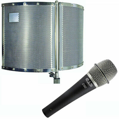 CAD Audio Acousti-shield 22 Mounted Folding Acoustic Enclosure w/ Microphone