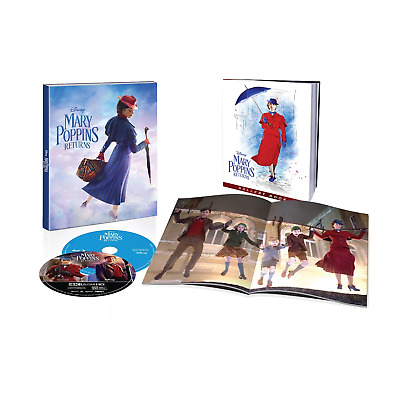 Mary Poppins Returns (4K Ultra HD /Blu-ray / Digital) Target  + Book