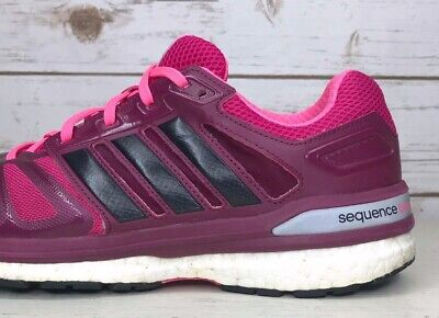 ADIDAS SUPERNOVA SEQUENCE 7 Boost M18957 Running Shoes Women's 9.5 Pink Purple