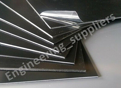 1.5mm A5 Black Polystyrene High Impact Plasticard HIPS Packs of 1, 3, 5 & 10